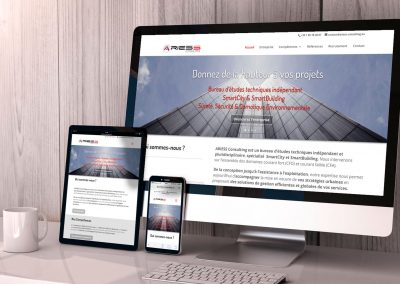 ARIESS Consulting – Refonte du Site Internet
