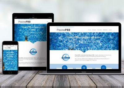 Site démonstration – Projet avec Pro Piscine