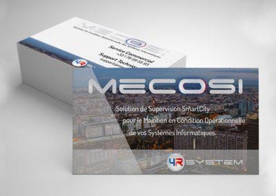 4R System – Logo et carte de visite MECOSI